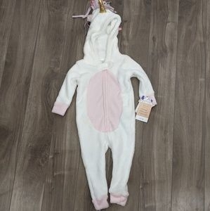 Other - Unicorn Sleeper Onesie Costume 18 Month NWT
